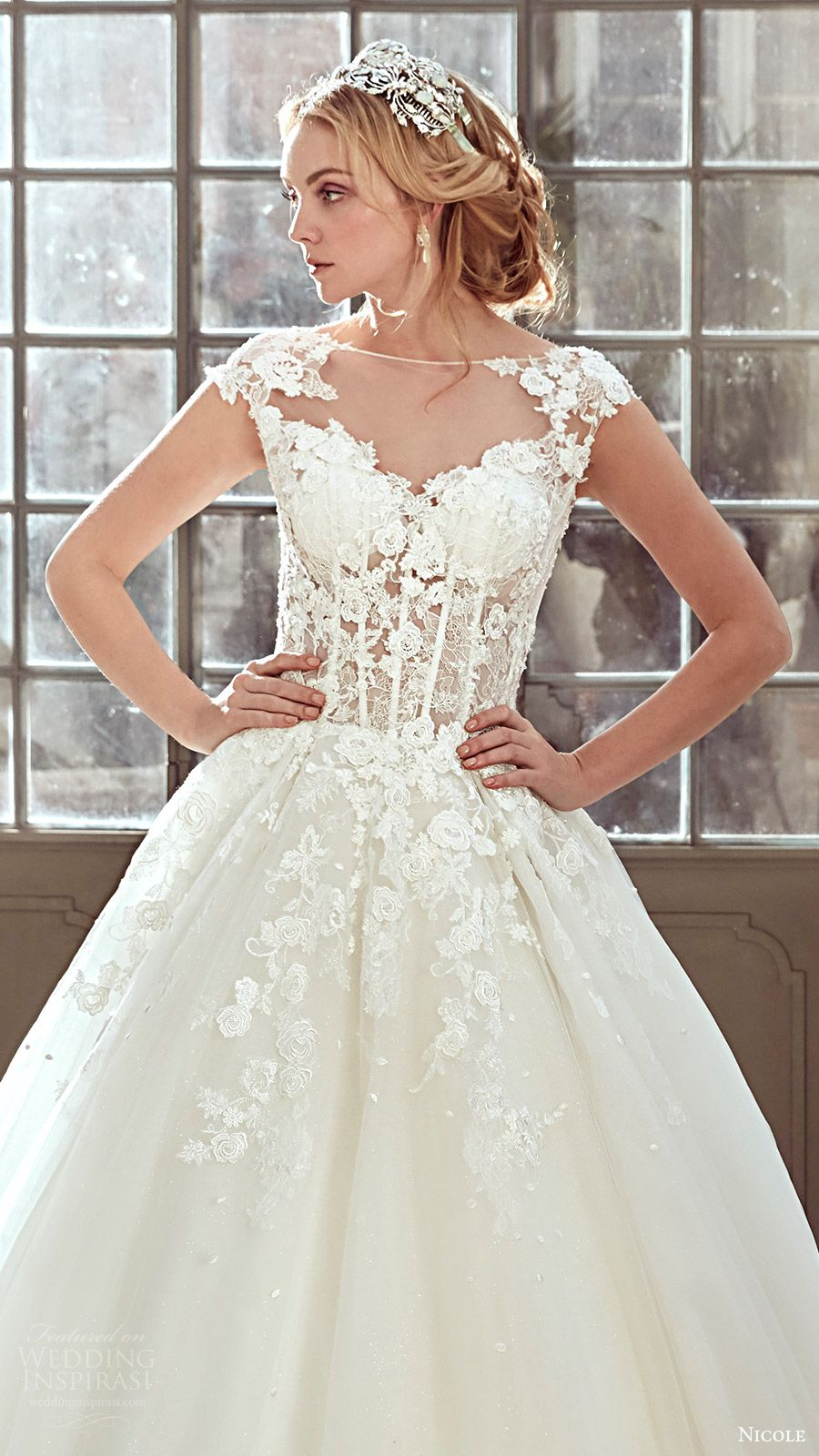 Elite wedding dresses  Nicole  Wedding Dresses  Wedding Sleeve and Aesthetics