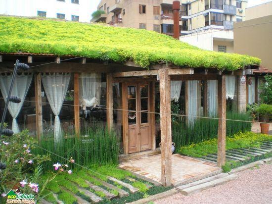 Sistema de cubierta verde mas liviano del mercado pesando for Cubiertas para techos livianas