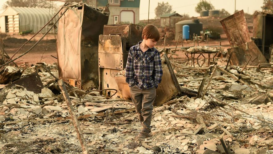 Newsela Wildfires rage on both ends of California New