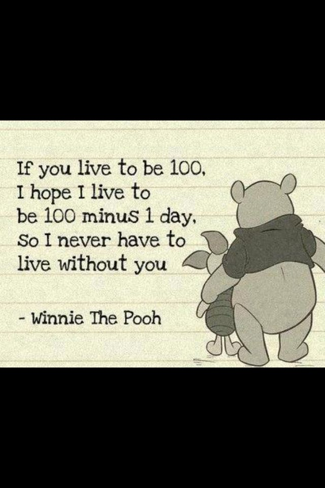 Lets Grow Old Together Words Of Inspiration Quotes Winnie The