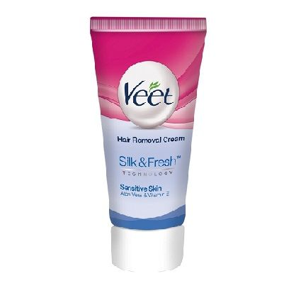 Veet Hair Removal Cream Sensitive Cream 25 G Rs 47 Hair