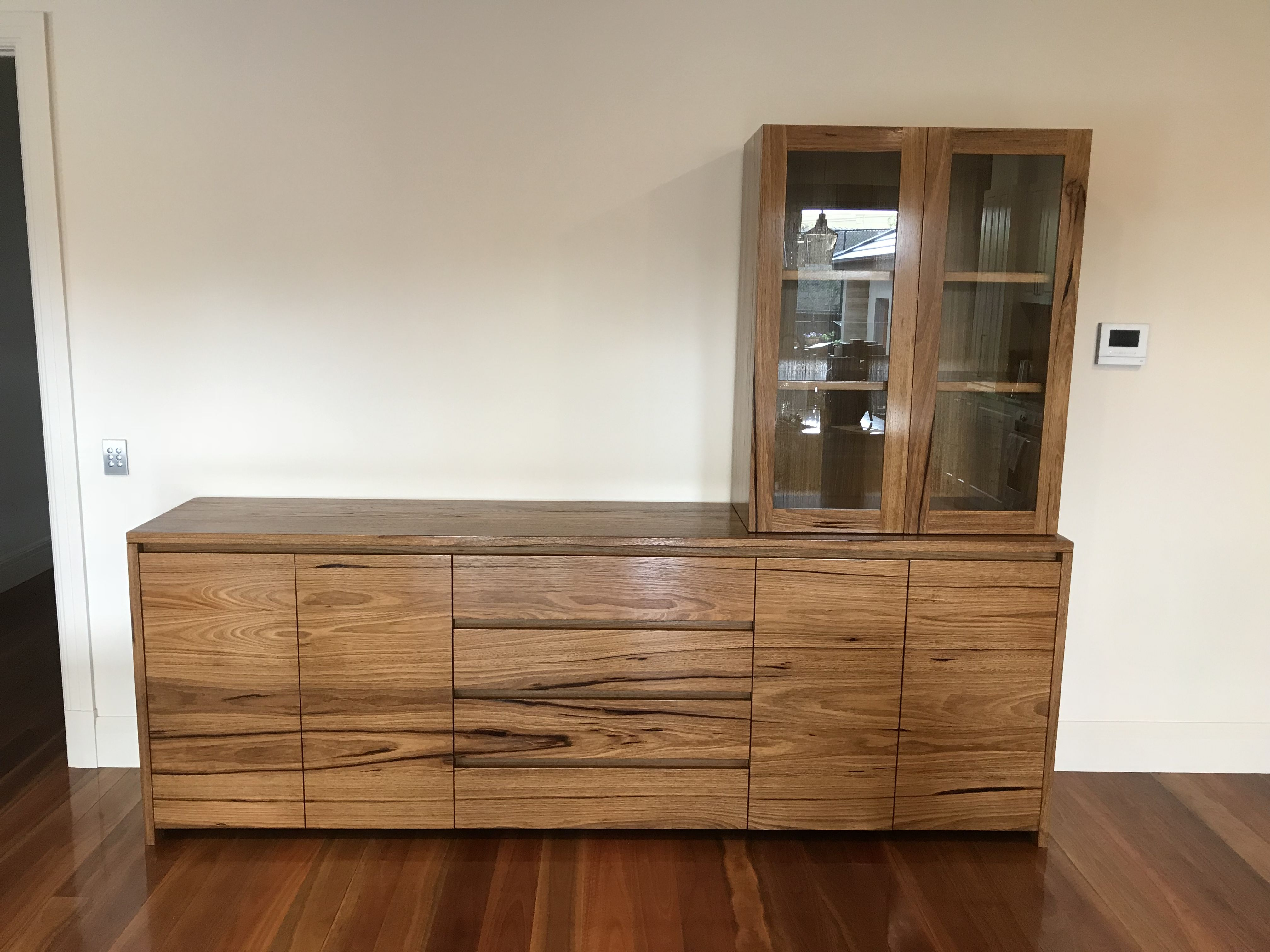 Timber Sideboard Solid Hardwood Timber Buffet Sideboard With Matching