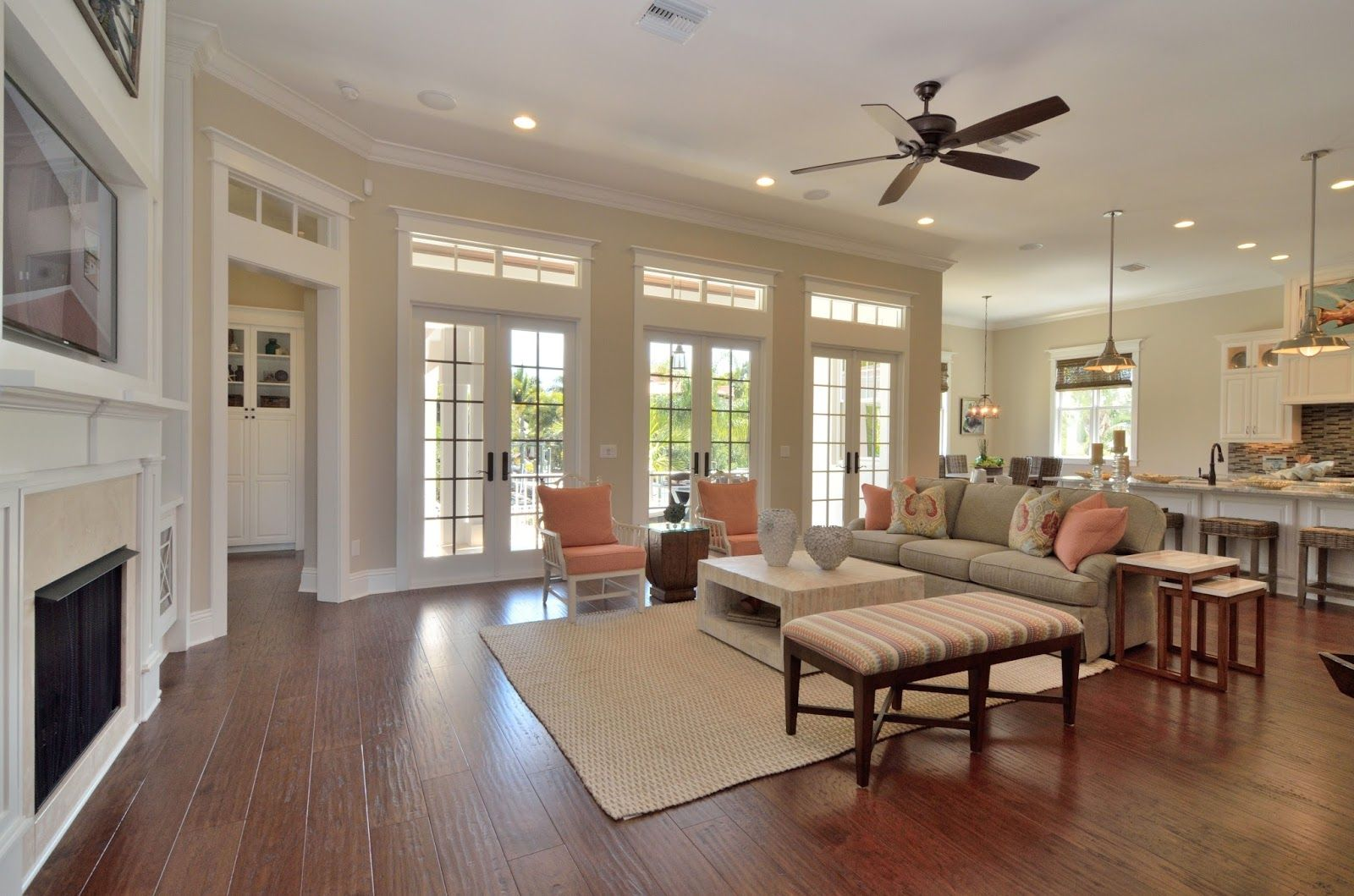 my visit to the 2014 southern living showcase home tampa on best neutral paint colors for living room sherwin williams living room id=41206