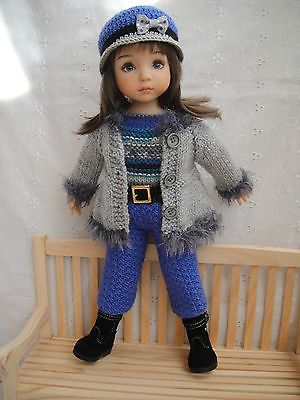 Handknitted Outfit for Little Darling Doll 13 inches Dianna Effner New | eBay. Ends 1/3/14