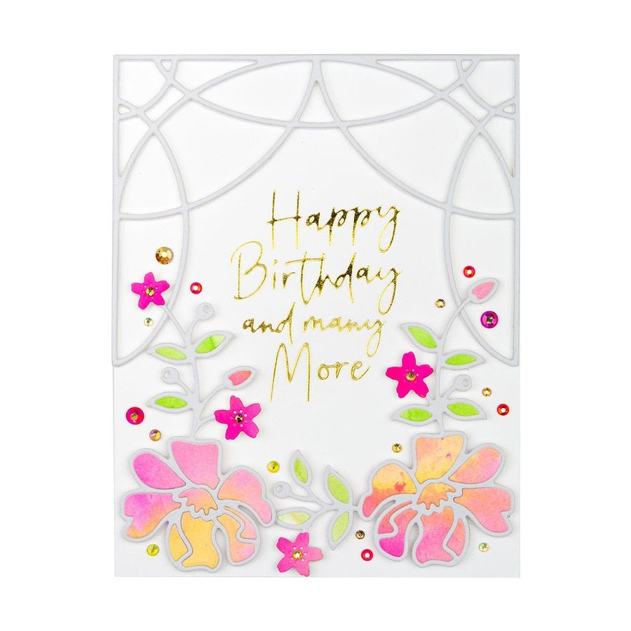 Small Die Of The Month Membership Card Creator Floral Cards Homemade Birthday Cards