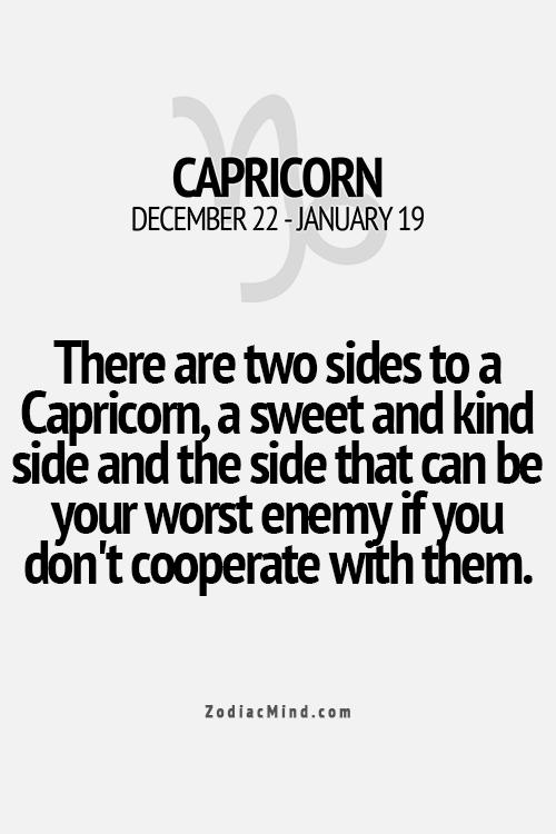 70a14e4dc You don't want a #Capricorn as an enemy. Remember that. | CAPRICORNS ...