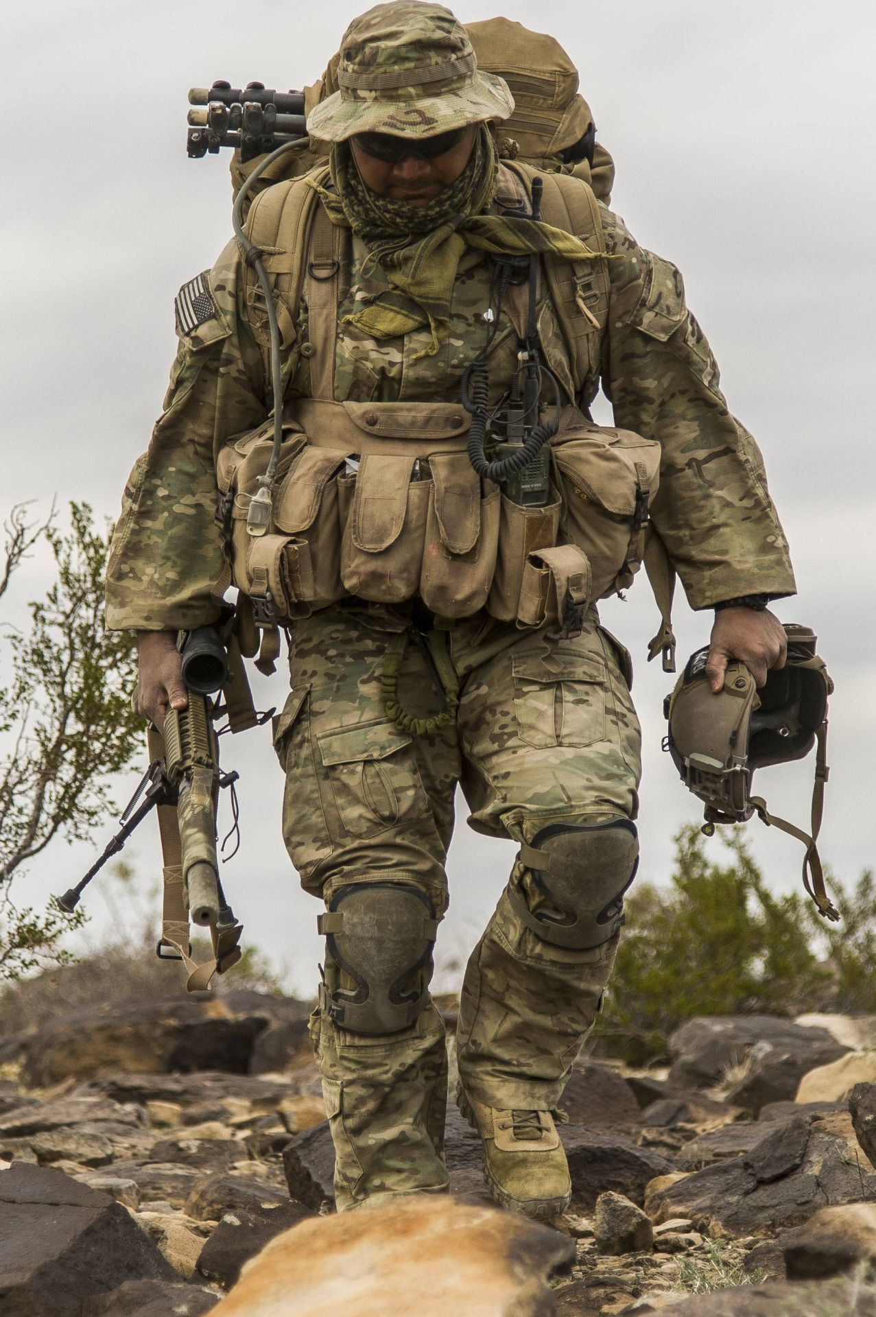 Military special forces gear - Us Army Special Forces Sniper Assigned To The 7th Special Forces Group Airborne