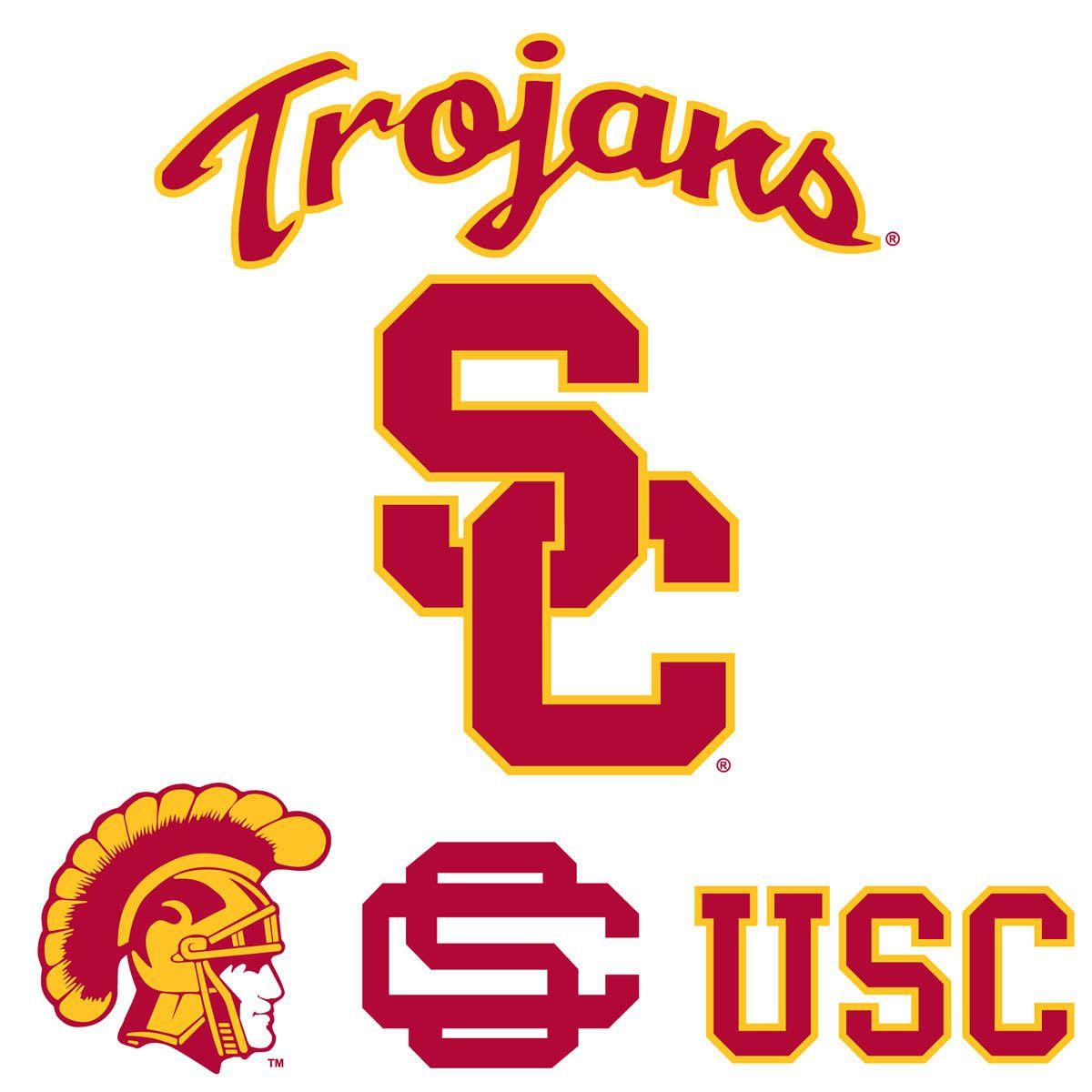 Usc Logo Peel Usc Trojans Usc Trojans Logo Usc