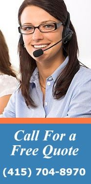 For a free quote call us today! 415-704-8970