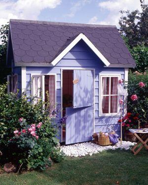 Komplett Neu Kinder-Gartenhaus aus Holz von car-moebel.de … | Pinteres… SD13
