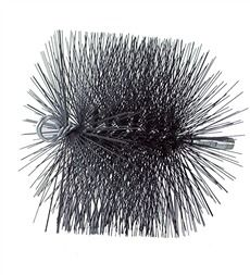 Chimney Sweep Round Poly Brush Chimney Cleaning Wire Brushes Fireplace Accessories