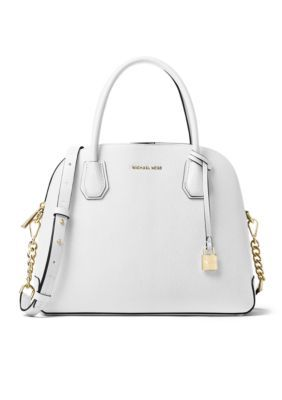 02c743f07cd7 Michael Michael Kors Kors Studio Mercer Large Dome Satchel - Optic White -  One Size