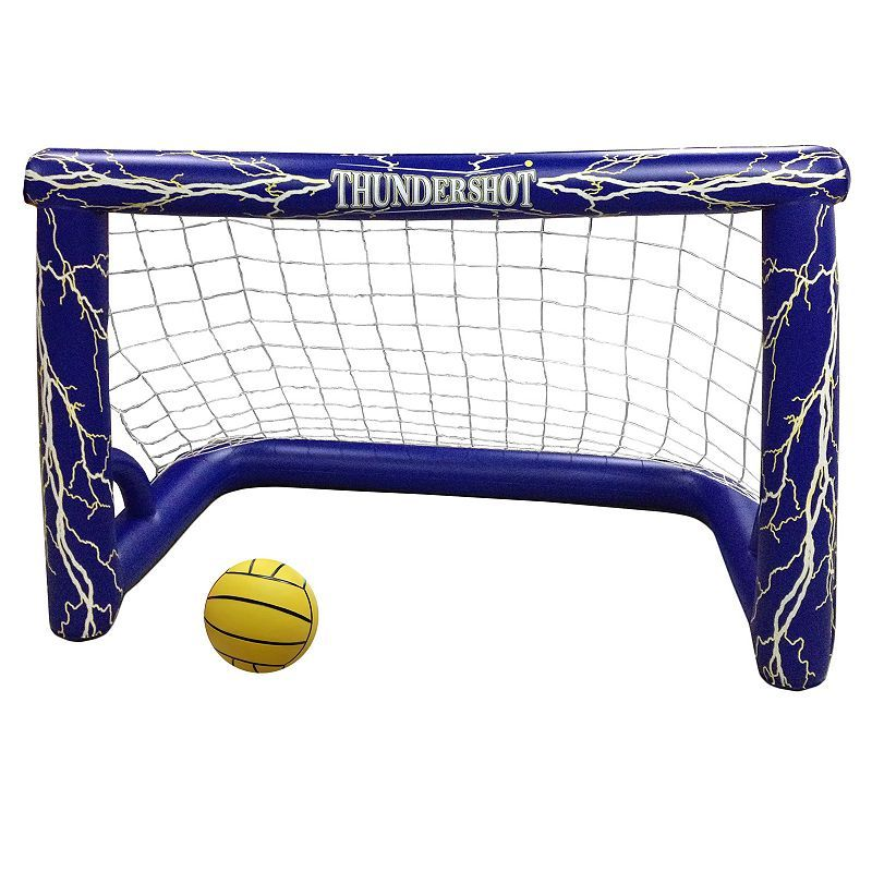 Blue Wave Thunder-shot Water Polo Pool Game Set, Multicolor