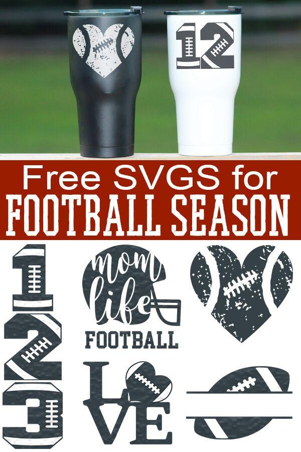 Free Football Svgs Football Season Never Looked So Good Cricut Vinyl Cricut Cricut Tutorials