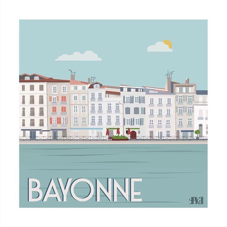 La ville de bayonne entre dans la collection paysbasque - Piscine de lauga bayonne ...