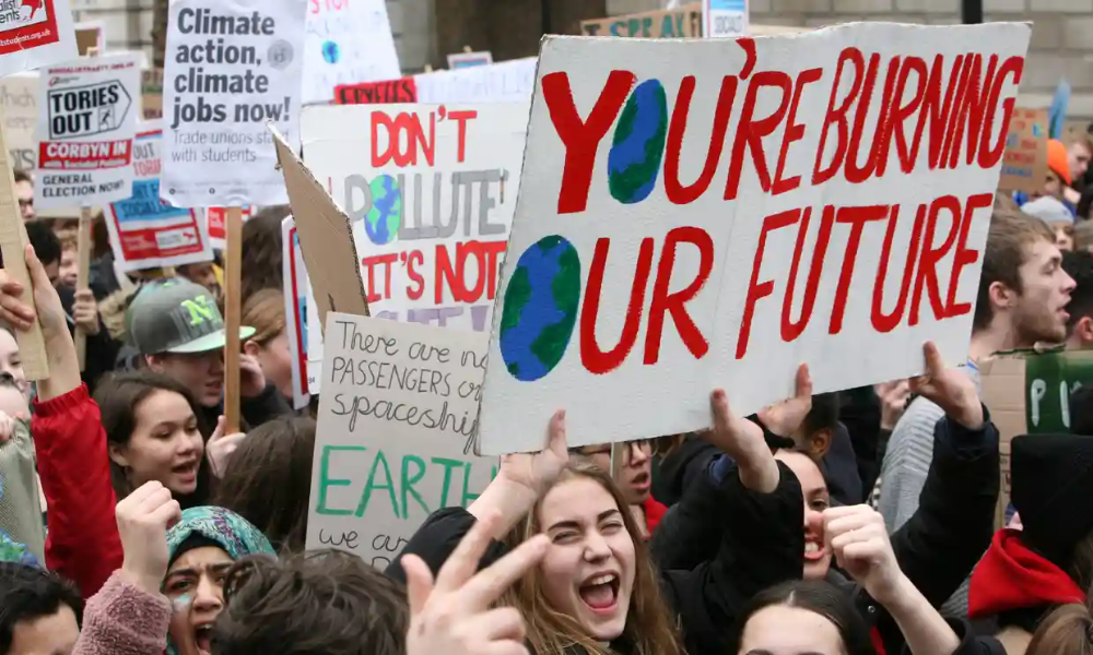 Youth Climate Change Protests Across Britain As It Happened