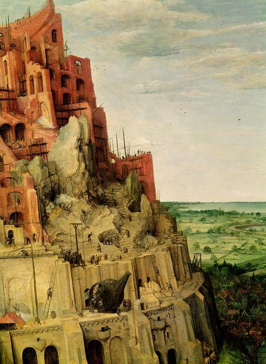 Buy Artworks Tower Of Babel Pieter Bruegel The Elder Google Art Project