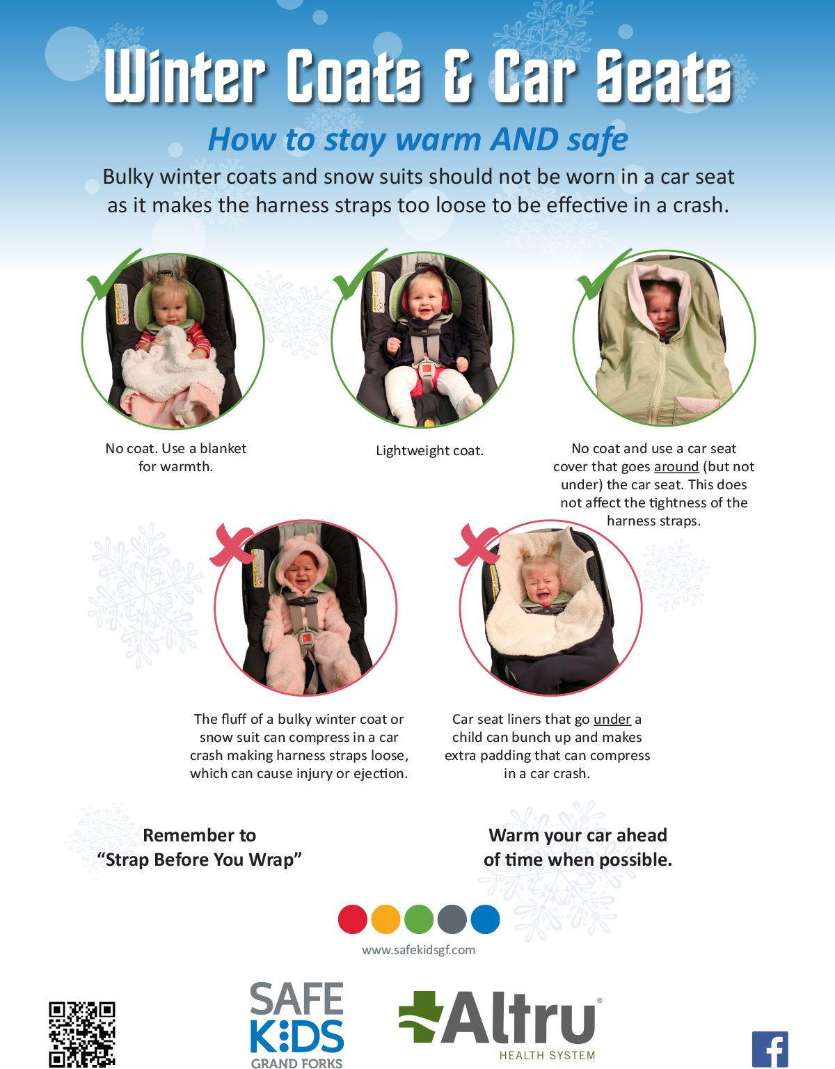 Winter Coats and Infant Car Seats don\'t use them together, as the ...