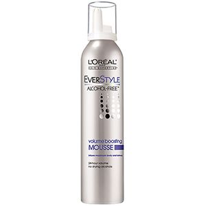 Everstyle Alcohol Free Volume Boosting Mousse By L Oreal Paris Luxurious Hair Adds Body To Any Kind Of