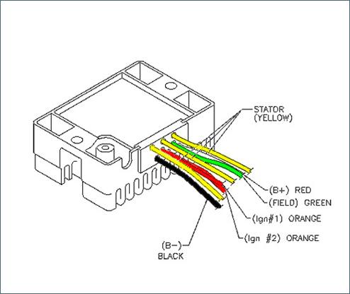 6 wire rectifier wiring diagram  wiring diagram networks