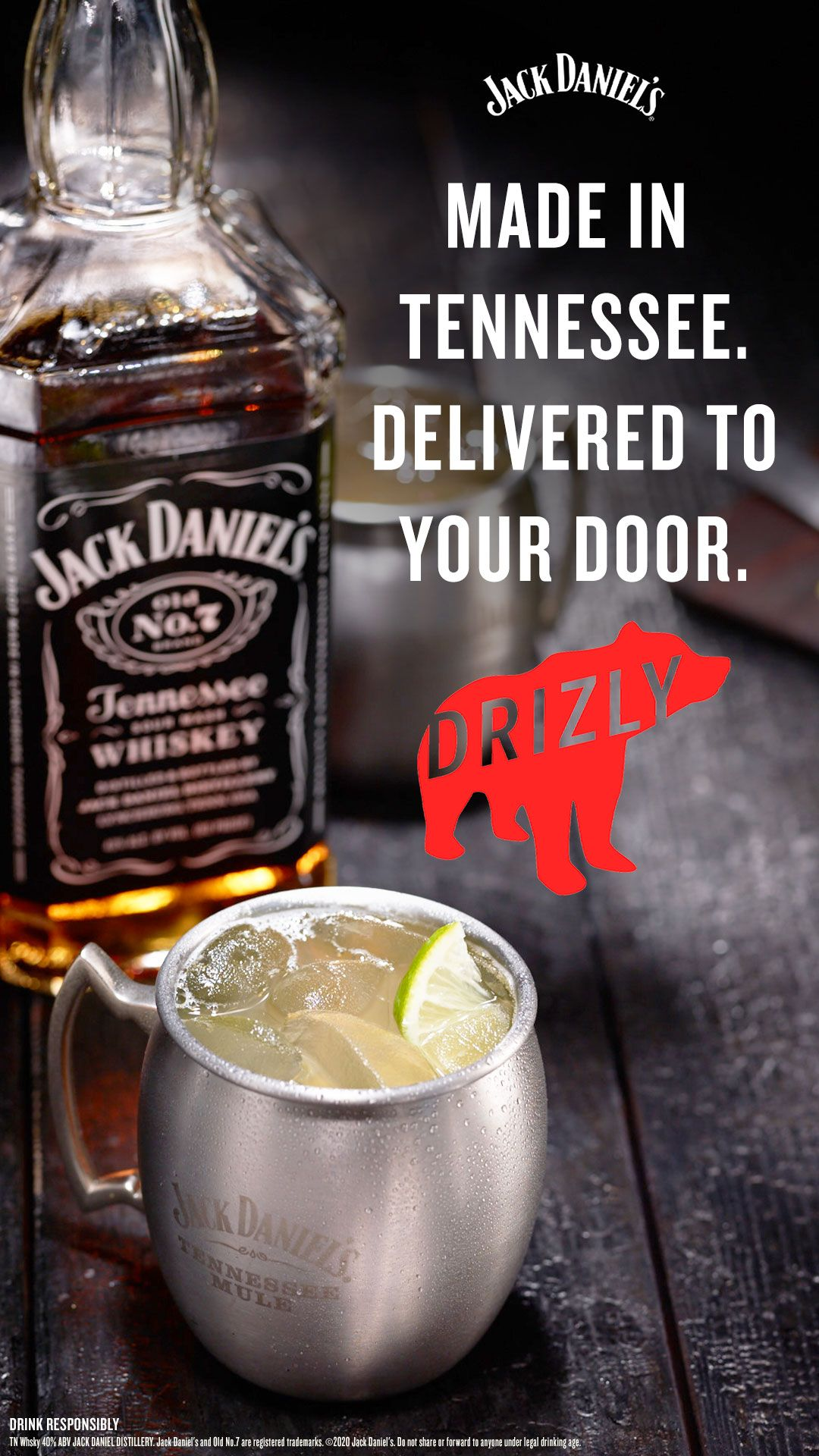 Jack Daniel S Tennessee Whiskey In 2020 Jack Daniels Jack Daniel S Tennessee Whiskey Jack Daniels Drinks