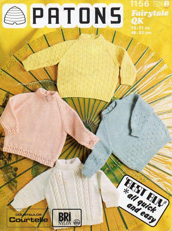 6375d9cfa baby sweaters knitting pattern PDF pattern panel jumper border ...