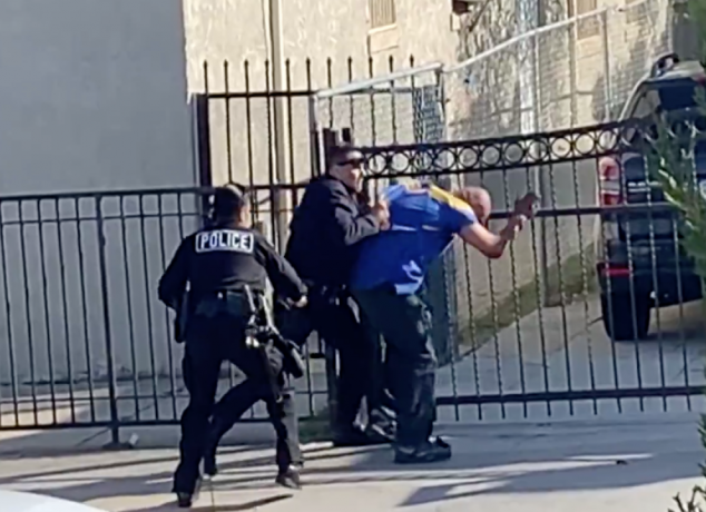 Lapd Officer In Violent Beating Video Has Been Involved In Three Prior Shootings