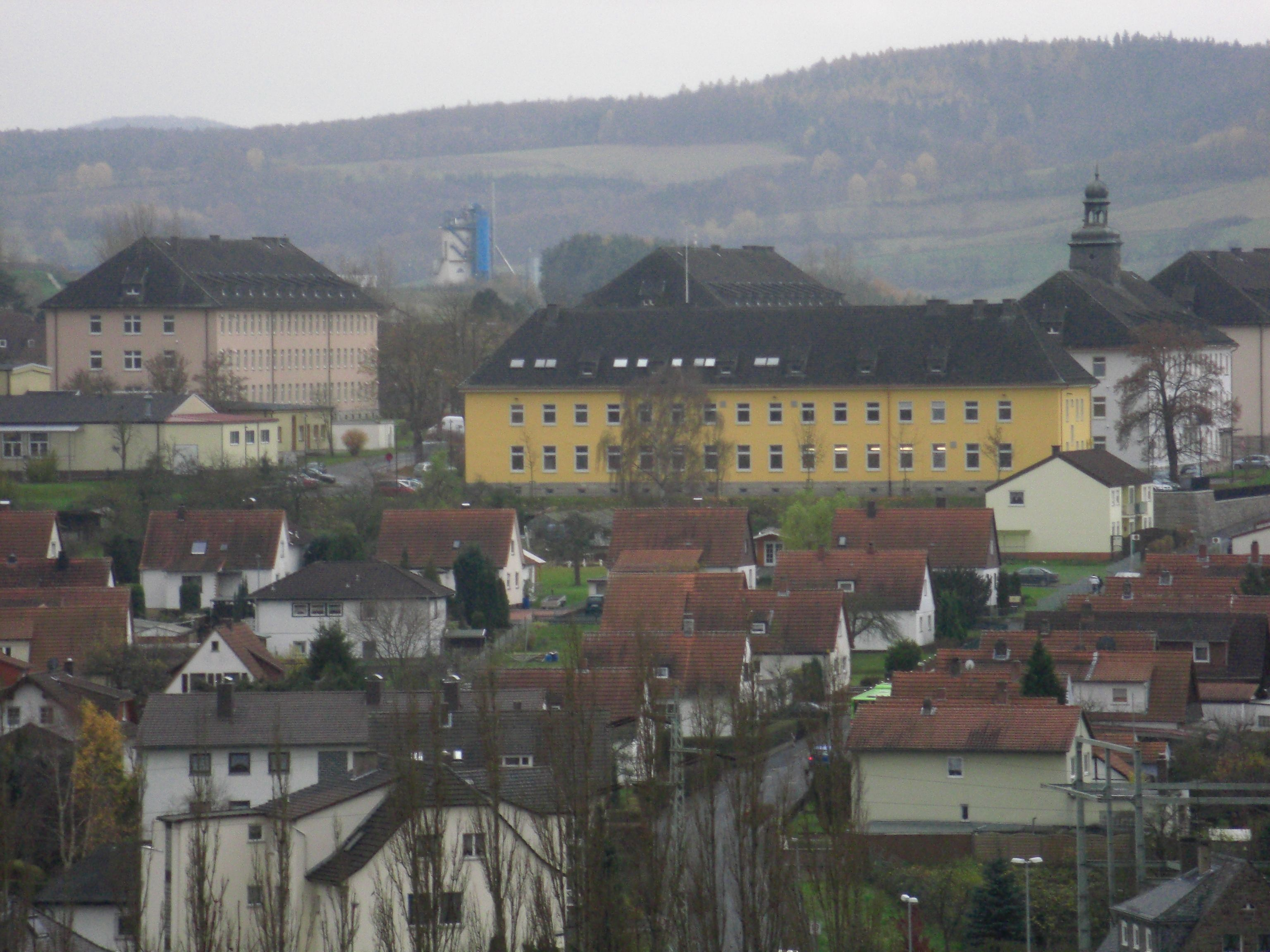 Military McPheeters Kaserne-Bad Hersfeld