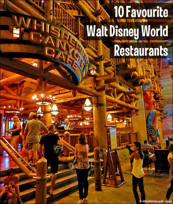 Top 10 Walt Disney World Restaurants For Table Service Dining