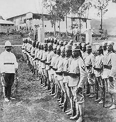 German Askari soldiers | German east africa, East africa, German army