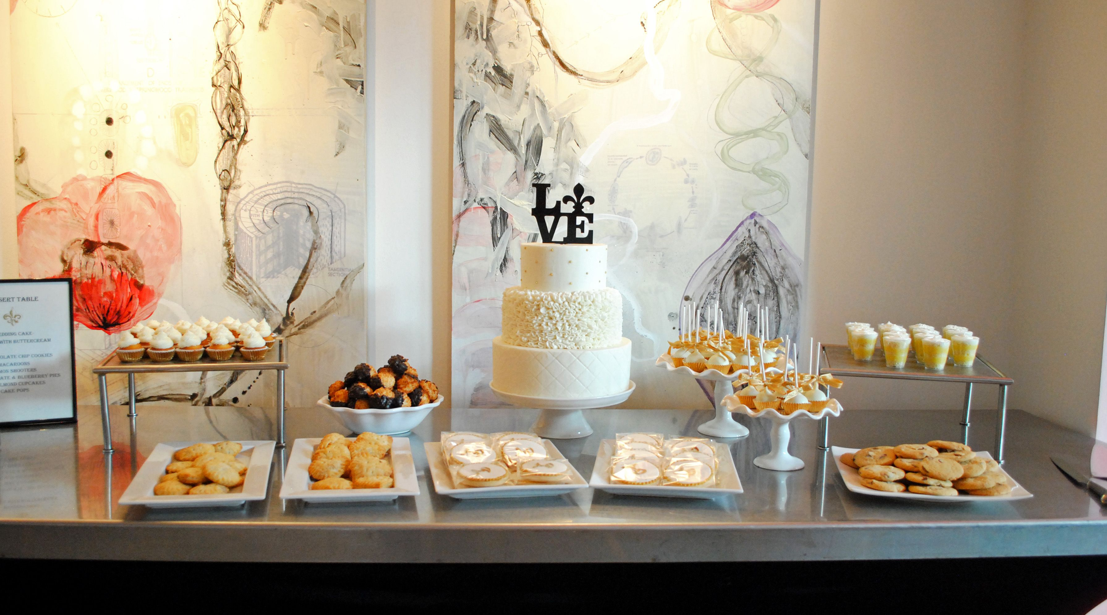 Dessert table wedding cake gluten free wedding cake simply sweet