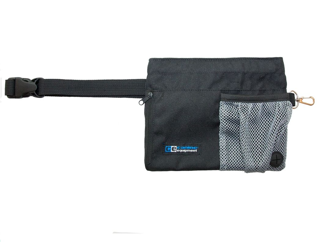 The Trainer Treat Bag Has A Convenient Waist Strap And A Quick