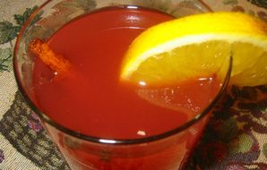Apple, Cranberry and Orange Spiced Cocktail Recipe - Recipezazz.com