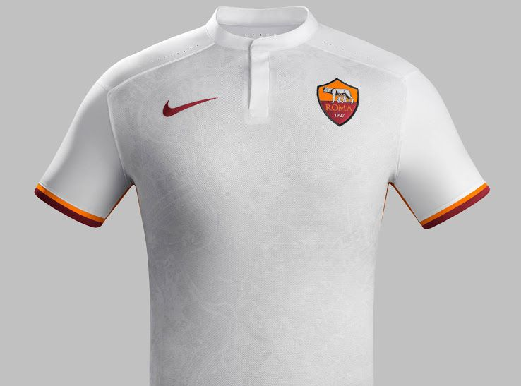 AS Roma 15-16 Kits Released - Footy Headlines  6a1fee38d