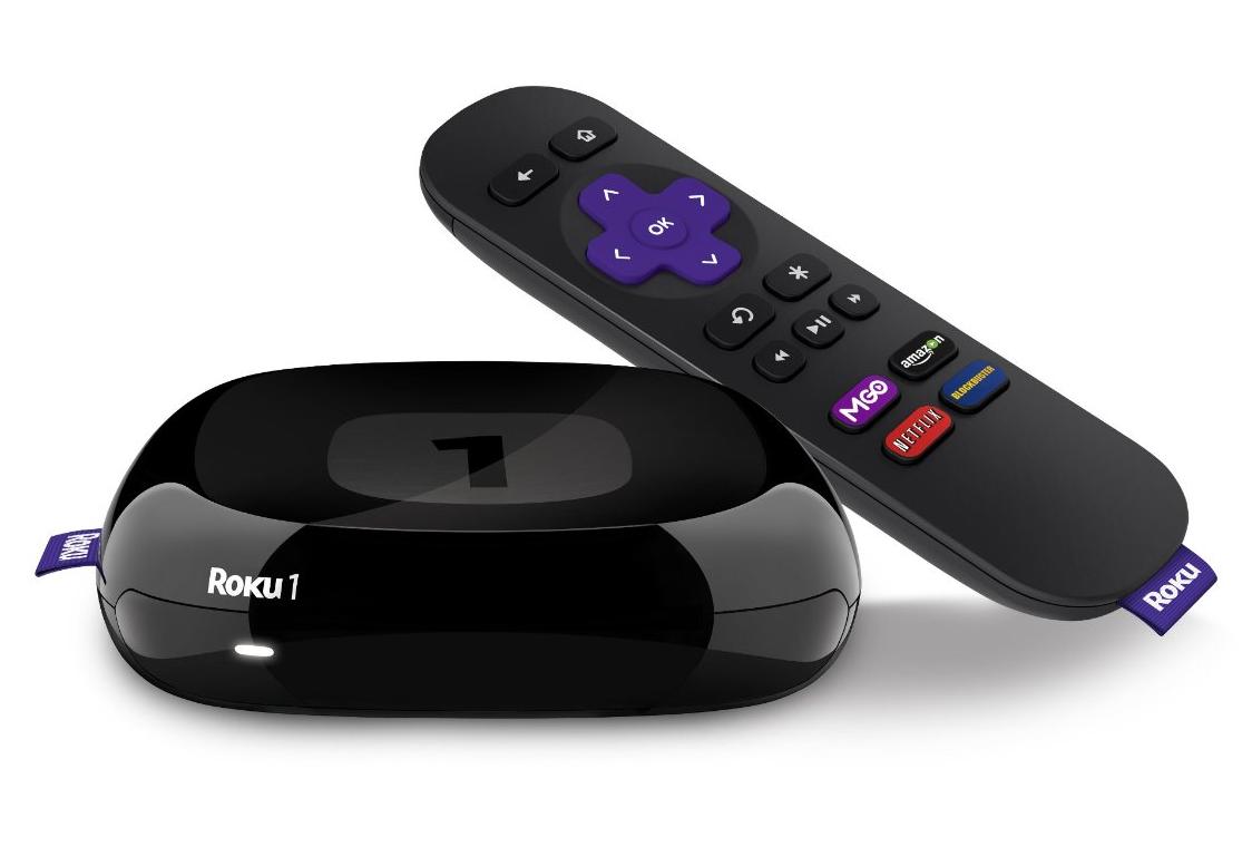 Roku 1 Wireless 1080p Streaming Player (Refurbished) 27 w