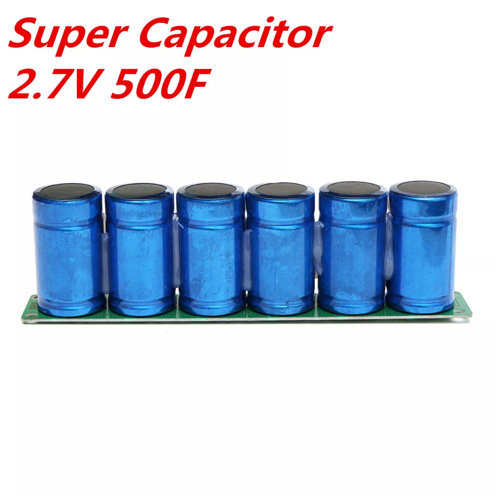 Farad Capacitor 2.7V 500F Super Capacitor With Protection