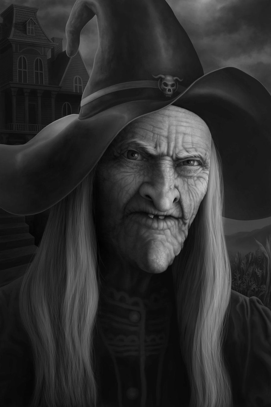 portrait of a witch - Google Search