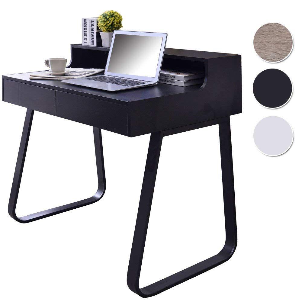 Sixbros Computer Desk Pc Workstation Office Desk Black Ct 3532 1227 Amazon De Kuche Computerschreibtisch Schreibtisch Mit Schubladen Schreibtisch