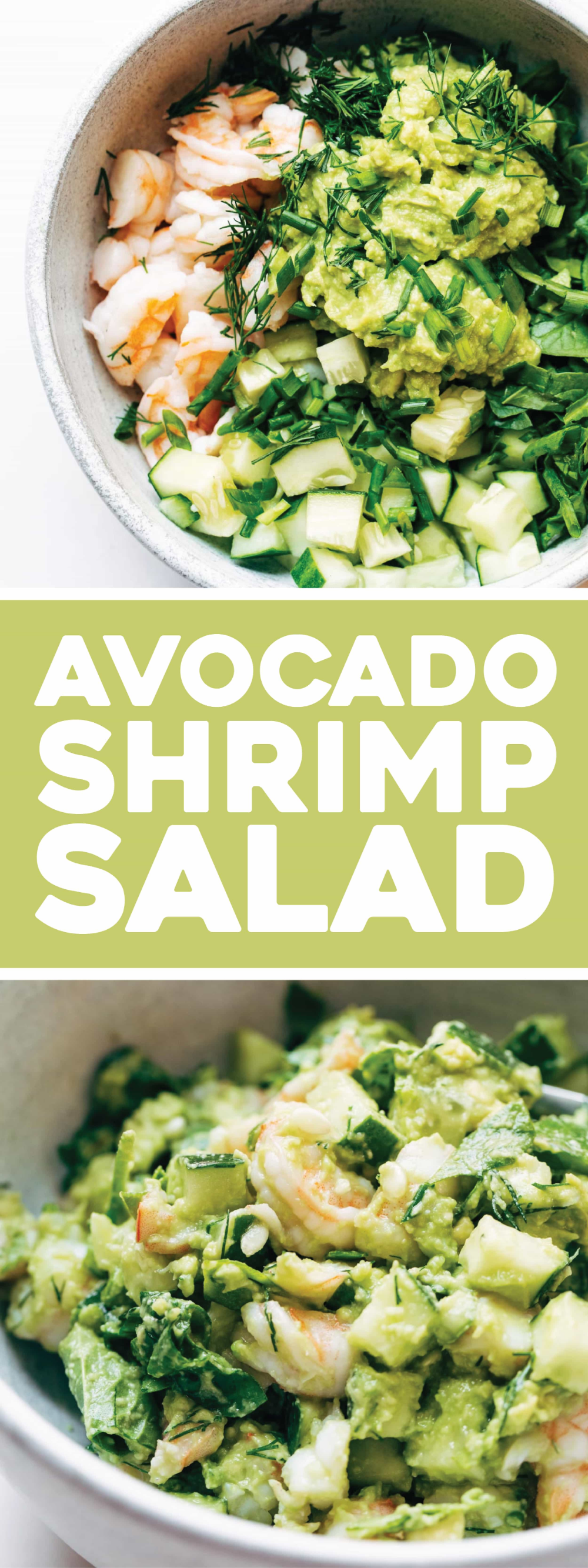 Super Quick Avocado Shrimp Salad
