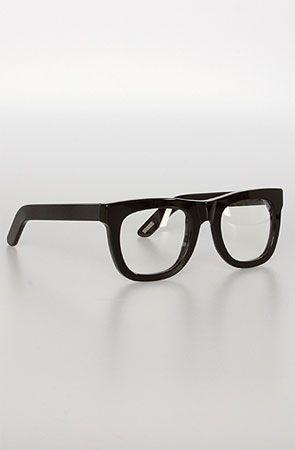 Super Sunglasses Glasses Ciccio in Black