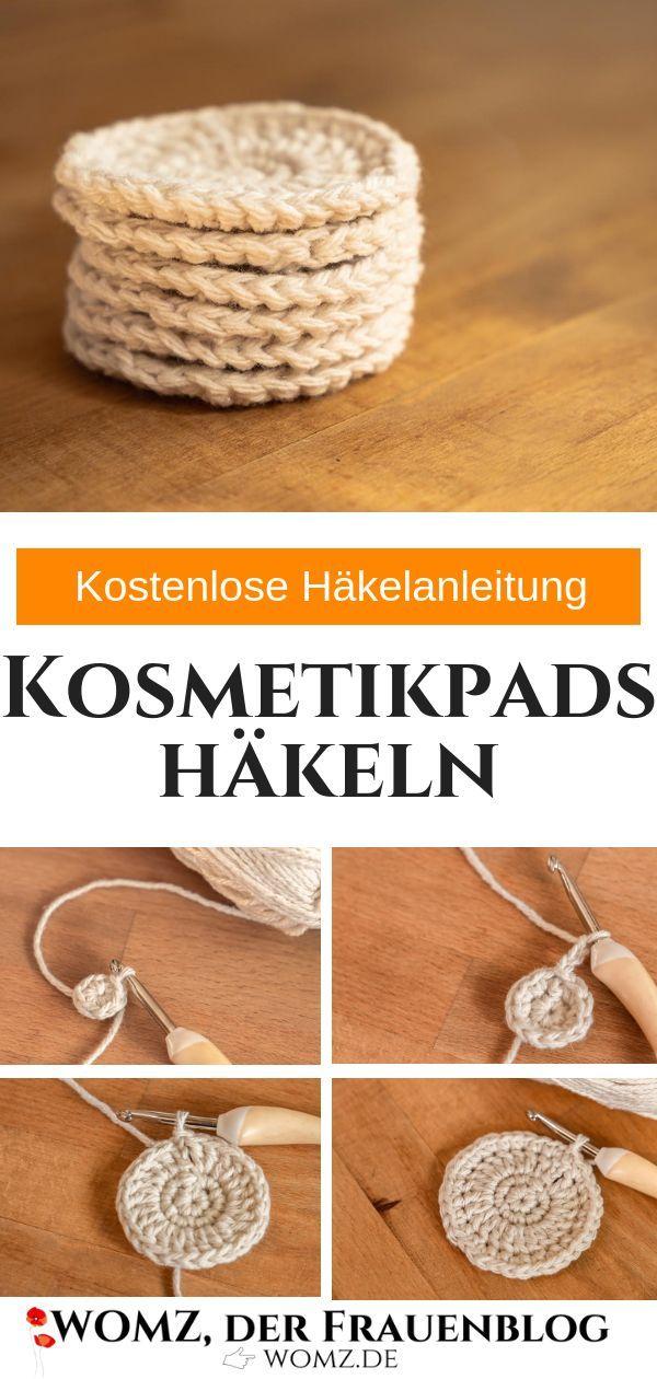 Photo of Kosmetikpads häkeln: Kostenlose Häkelanleitung mit Bildern – WOMZ
