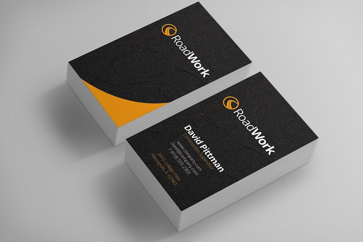 Construction Business Cards Construction Business Cards Business Card Dimensions Standard Business Card Size