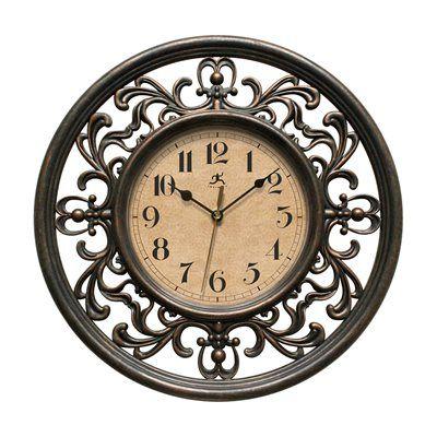 Infinity Instruments 15013rs 4012 Sofia Elegant Design Wall Clock
