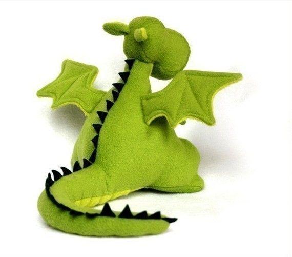 Yoki The Fat Dragon Sewing Pattern - PDF | Drachen | Pinterest ...
