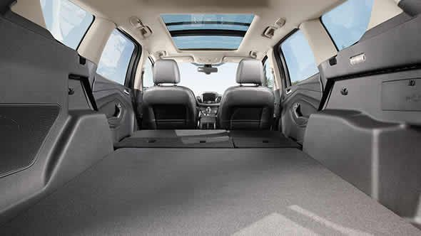 The 2015 Ford Escape With Available Panoramic Vista Roof With 60
