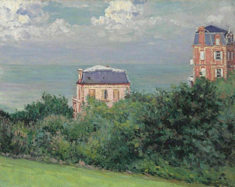 Villas at Villers-sur-Mer - Gustave Caillebotte 1880  Impressionism