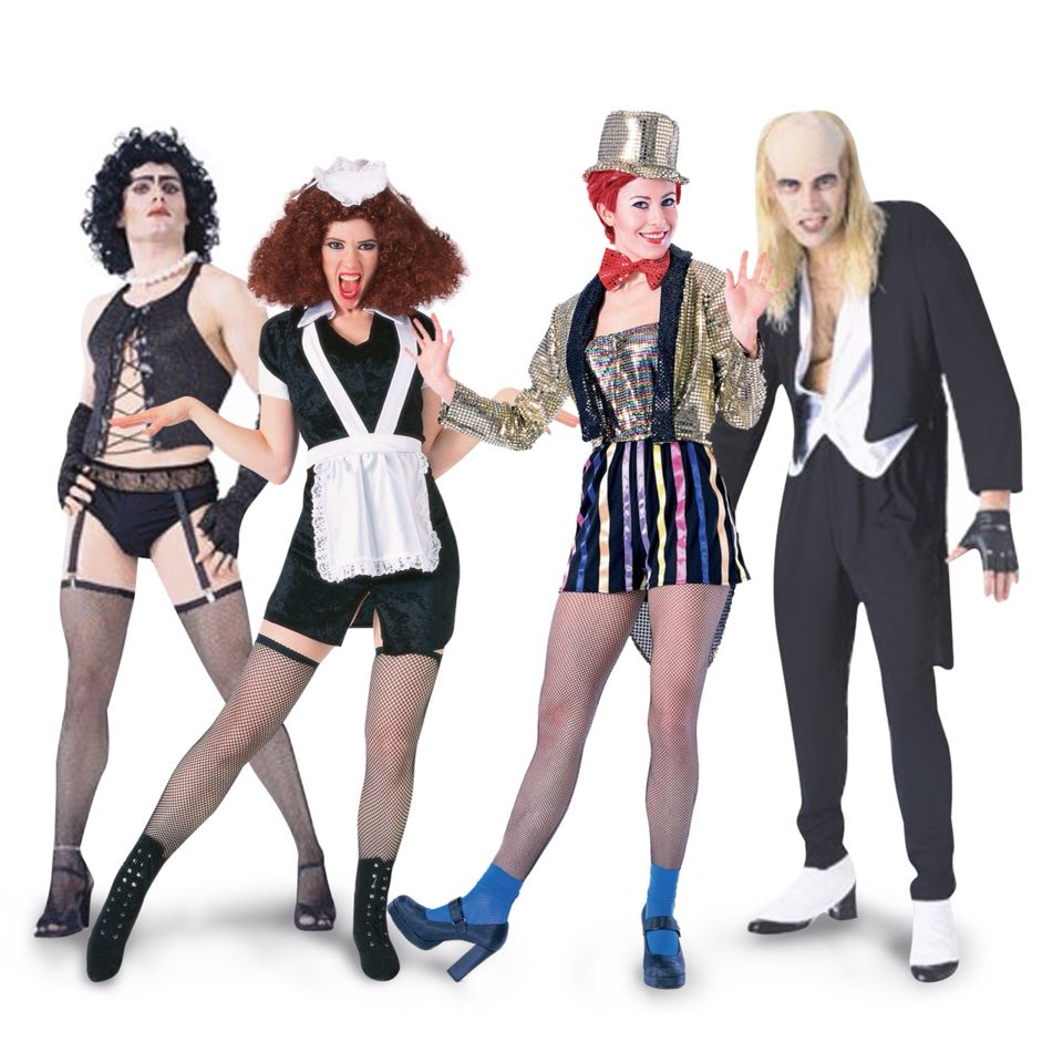 Riff Raff Rocky Horror Picture Show Drag Fancy Dress Up Halloween Adult Costume
