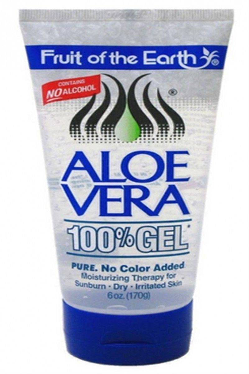Fruit Of The Earth Aloe Vera 100 Gel 6 Oz Ebay Skin Care Moisturizer 100 Aloe Vera Gel Aloe Vera Gel