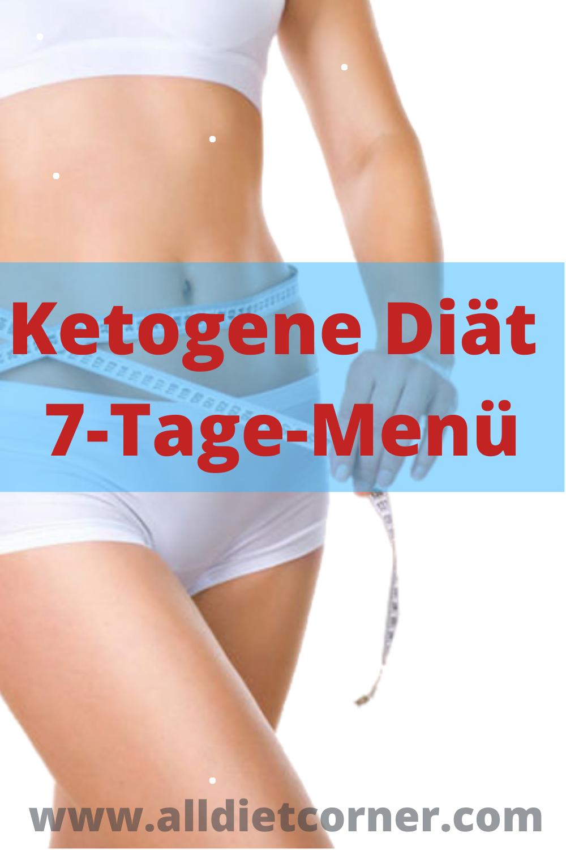 Ketogene Diät 7-Tage-Menü
