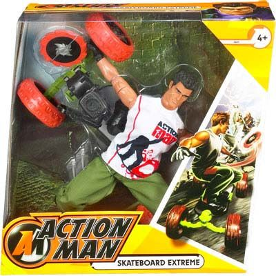 Actionman Skateboard Extreme